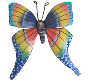 Butterfly Wall Hanging 7 Inches Butterfly 9