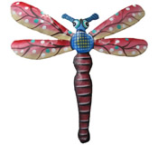 Dragonfly Wall Hanging - 8 Inch Dragonfly 12