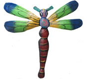 Dragonfly Wall Hanging - 8 Inch Dragonfly 13