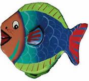 Fish Paper Mache Money Box