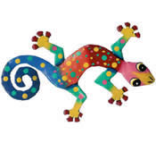 Gecko Wall Hanging 8 Inch - G1