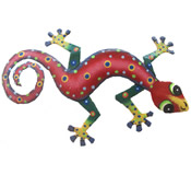 Gecko Wall Hanging 12 Inch - GM47