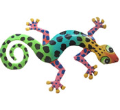 Gecko Wall Hanging 12 Inch - GM49