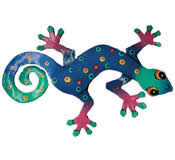 Gecko Wall Hanging 8 Inch - G7