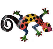 Gecko Wall Hanging 8 Inch - G8