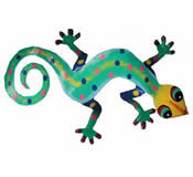 Gecko Wall Hanging 8 Inch - G13