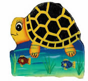 Turtle Paper Mache Money Box