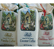 10 oz Cafe Trinite Flavoured Coffee Sack - Choice of Flavors