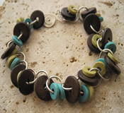 Hoops and Loops Bracelet