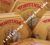 Single 33oz Large Tortuga Rum Cake - Choice of Flavours